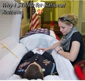 Why I STAND for National Anthem