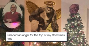 The Internet Clearly Set out to Prove That Angels and Stars Aren't the Only Acceptable Tree Toppers