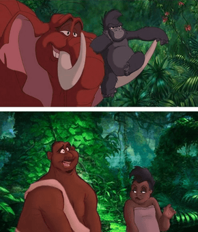 Check Out Some of Your Favorite Disney Animals as People