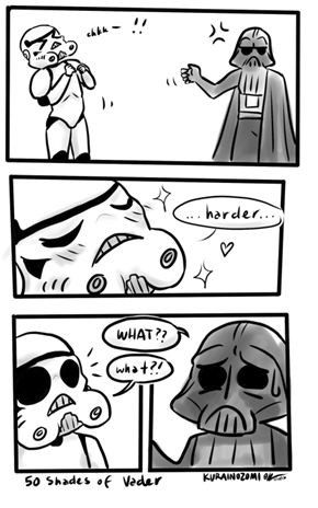 Some People Get a Little Too Excited About the Dark Side of the Force