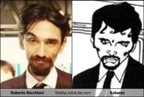 Roberto Recchioni Totally Looks Like Xabaras