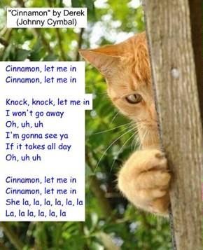 """Cinnamon"" by Derek (Johnny Cymbal)"