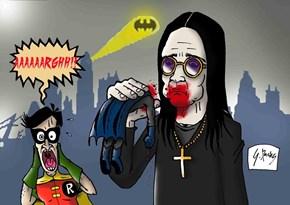 Ozzy! That's no Bat, Man!