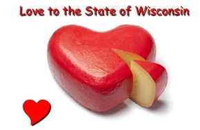 Love to the State of Wisconsin