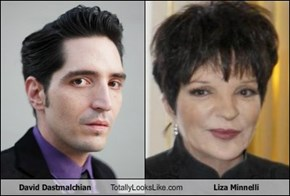 David Dastmalchian  Totally Looks Like Liza Minnelli