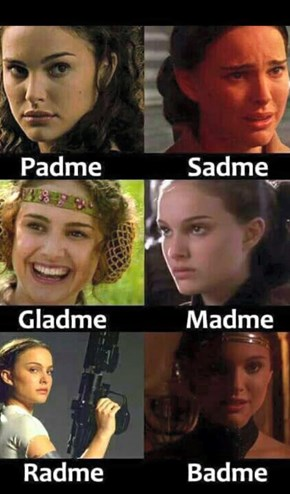 The Many Faces of Queen Amidala