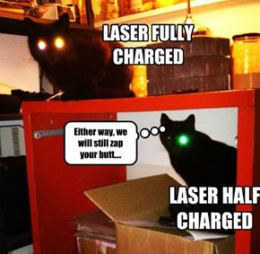 Laser Engaged...