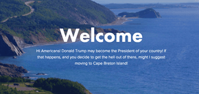 This Beautiful Canadian Island Is Welcoming Anyone and Everyone Who Wants to Escape a Trump Presidency
