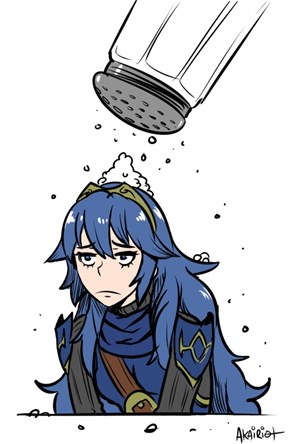 Why so Salty, Lucina?