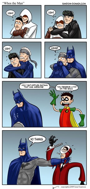 No One Fools Batman