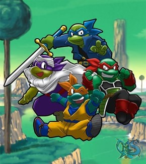 Teenage Mutant Saiyan Turtles