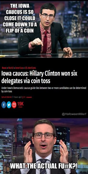 Iowa Caucus Flip of a Coin