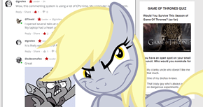 They made fun of Derpy, now Derpy will make fun of them with the new system!