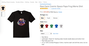 Amazon's Selling Dank Tees