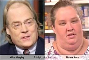 Mike Murphy Totally Looks Like Mama June