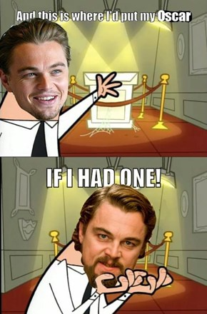 After Sunday, We May Never See Another Meme About Leonardo DiCaprio Not Winning an Oscar