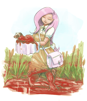 Bloody Flutteryshy