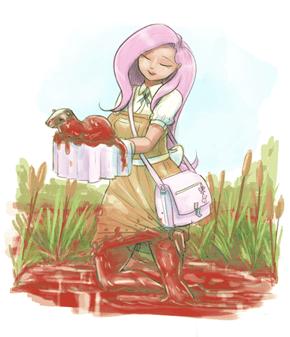 Bloody Flutteryshy