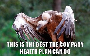 THIS IS THE BEST THE COMPANY HEALTH PLAN CAN DO