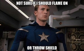 Trust Your Heart, Johnny.. I Mean Cap?
