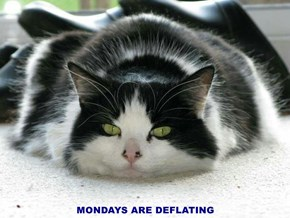 MONDAYS ARE DEFLATING