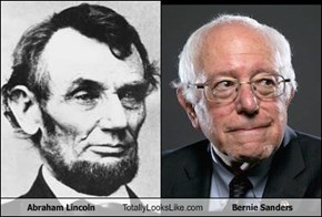 Abraham Lincoln Totally Looks Like Bernie Sanders