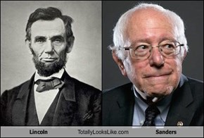 Lincoln Totally Looks Like Sanders