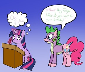 Pinkie, You Are Spike