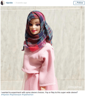 Hijarbie on Instagram Makes the Case for Glamorous, Modest Doll Fashion