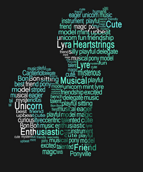 Lyra Heartstrings Typography