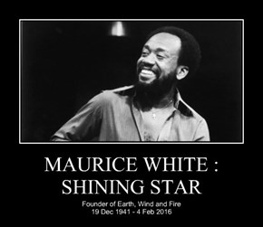 MAURICE WHITE : SHINING STAR