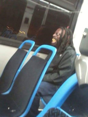That awkward moment when you're on public transport and see a Gremlin