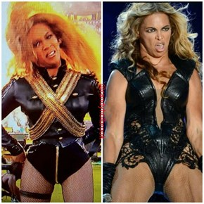 Beyoncé is Back at the Super Bowl? Time for a New Unflattering Pic