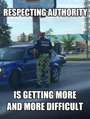 Quick! Call The Fashion Police!