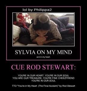 CUE ROD STEWART: