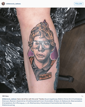 A Tattoo This Rad Won't Fly Under the Radar Too Long