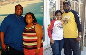This Man Spent a Year Losing Weight to Save His Wife From Kidney Failure