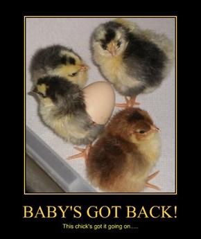 BABY'S GOT BACK!