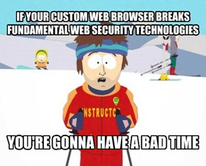 The Comodo Guide On How Not To Make A 'Secure' Browser