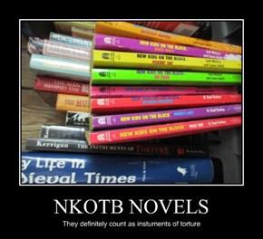 NKOTB NOVELS