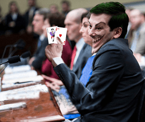 Martin Shkreli Would Make an Amazing Batman Villain