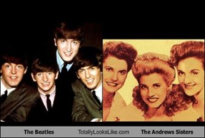 The Beatles Totally Looks Like The Andrews Sisters