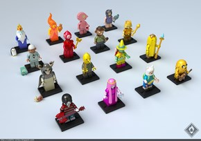 The Only Thing Wrong With These Adventure Time LEGO Minifigs is the Fact That They Aren't Real