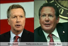 John Kasich Totally Looks Like Senator Stern