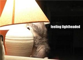 feeling lightheaded