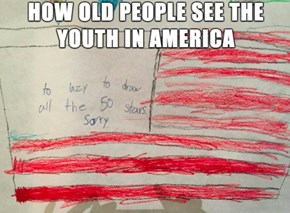 Back in My Day, We Drew All 48 States By Hand