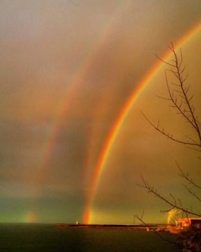 A Full On Triple Rainbow?!!
