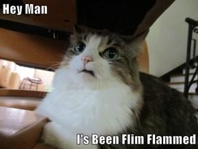 Hey Man  I's Been Flim Flammed