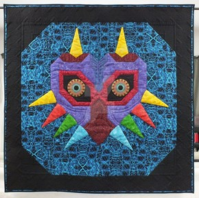 This Majora's Mask Quilt Wants To Devour Your Soul