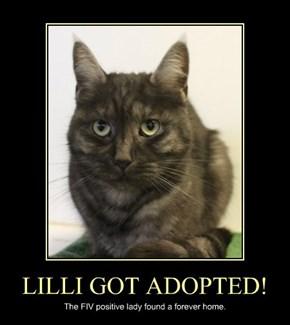 LILLI GOT ADOPTED!